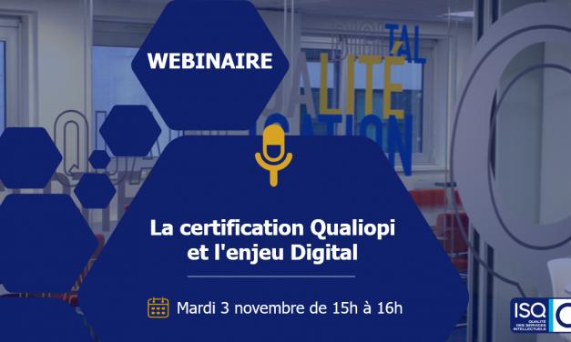 CHEZ NOUS – Webinaire : La certification Qualiopi et l'enjeu digital